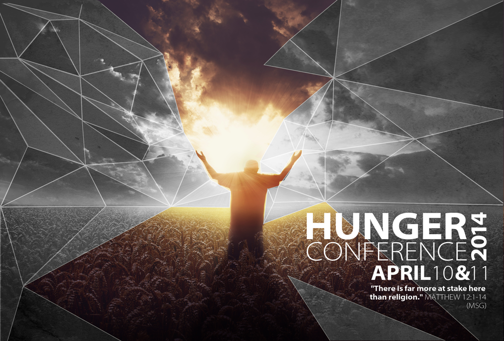 Hunger Conference Flyer (front)