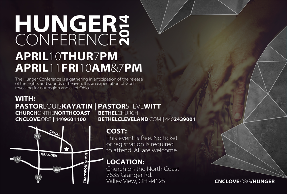 Hunger Conference Flyer (back)