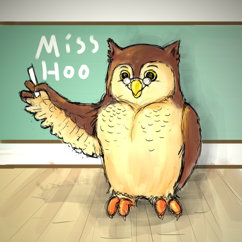 Miss Hoo: Owl concept image