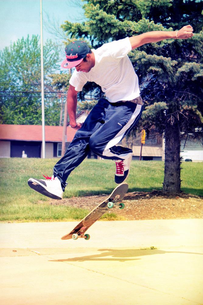 Super Cool Skate Board Dude