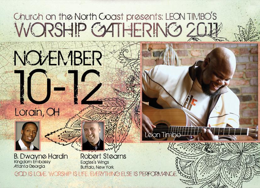Worship Gathering 2011 Flyer