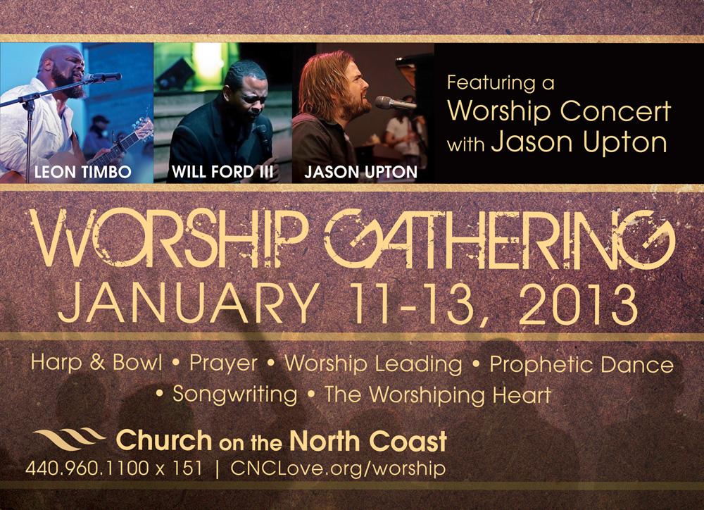 Worship Gathering 2013 5x7 Front