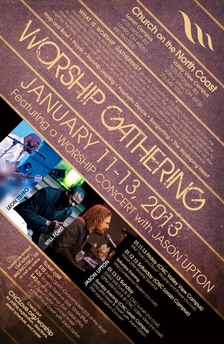 Worship Gathering 2013 Poster