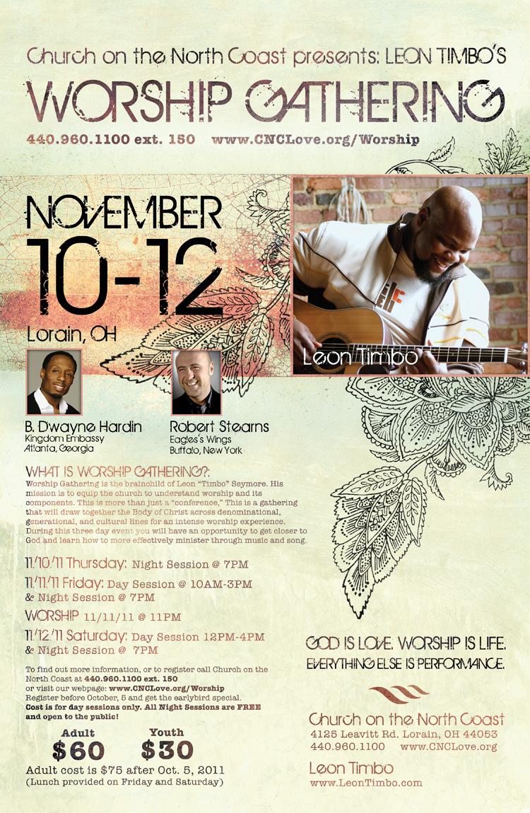 Worship Gathering 2011 Poster